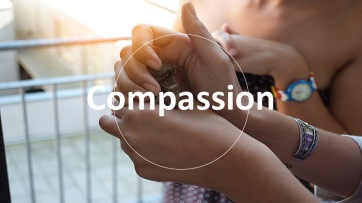 Love thy neighbor. Compassion to others, is compassion to yourself.